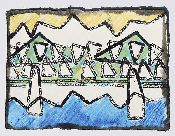 Bridge 2 by X Bonnie Woods