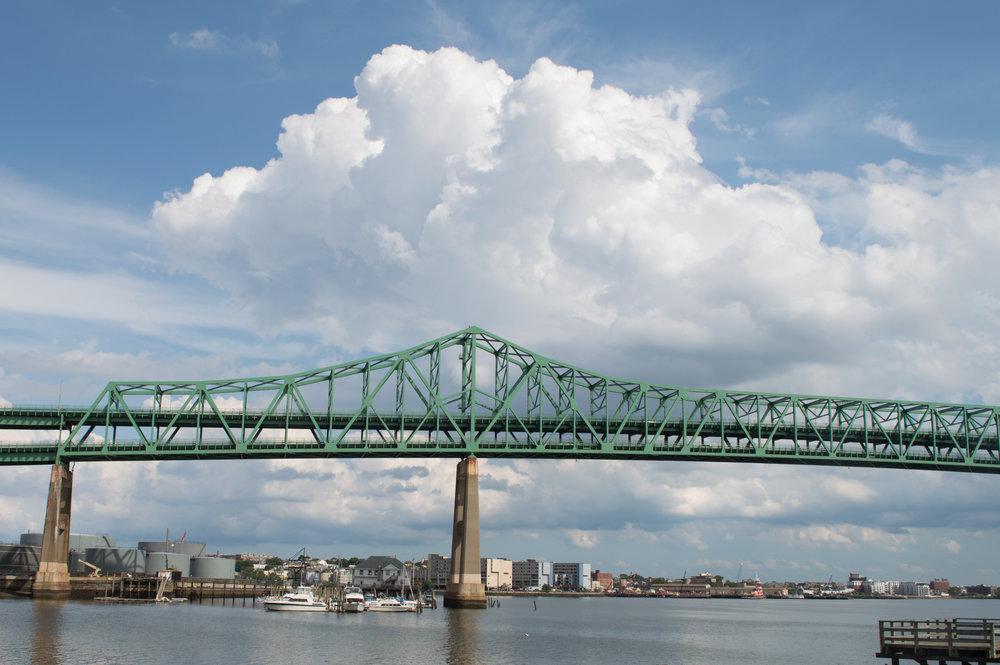 Tobin Bridge by Georgia D Green