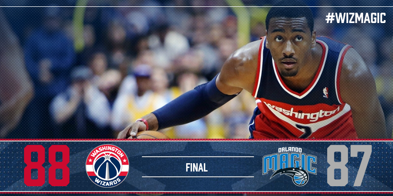 GRAPHIC FROM WASHINGTON WIZARDS TWITTER