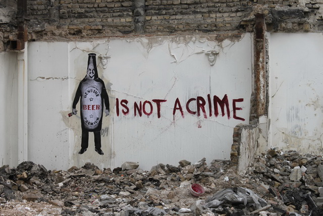 """Beer Is Not a Crime"" by Icy & Sot"