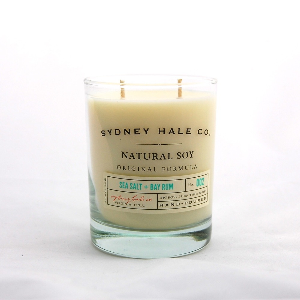 Sydney Hale Sea Salt + Bay Rum Candle