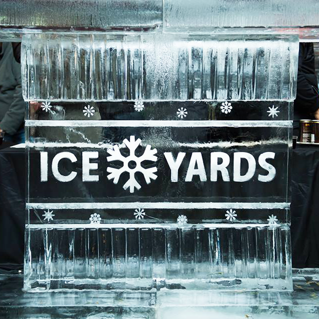 When life gives you ice, make Ice Yards! Gather your friends and grab your mittens and scarves, Ice Yards is bringing the ski chalet vibes back to DC! ACTIVITIES: Ice Bars + Cocktails Boozy Snow Cones Frosty Beer Garden by Due South DJ Jerome Baker III $10 Admission 21 & Over, ID check required RAIN OR SHINE! Two Blocks from Navy Yard Metro Station Address to GPS if driving: 301 Water Street SE