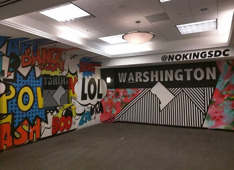 Mural for Washington Post 'Ingenuity' Conference