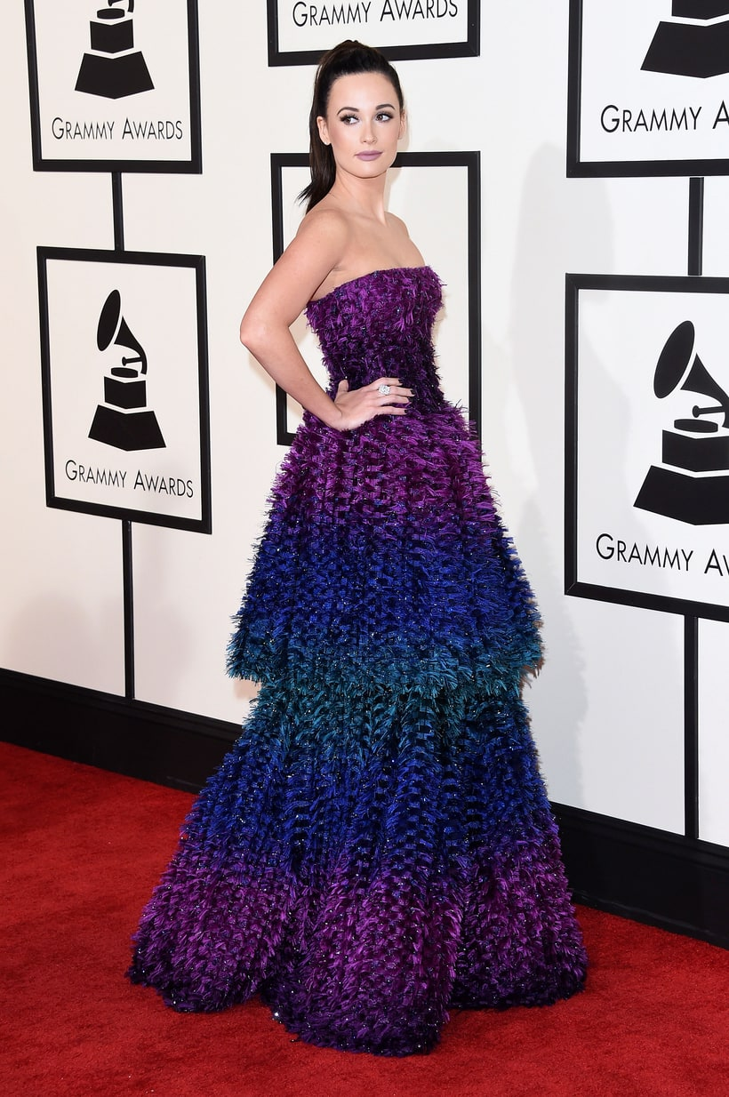 Kacey Musgraves Dress: Armani Prive Jewelry: Randall Scott Fine Jewelry