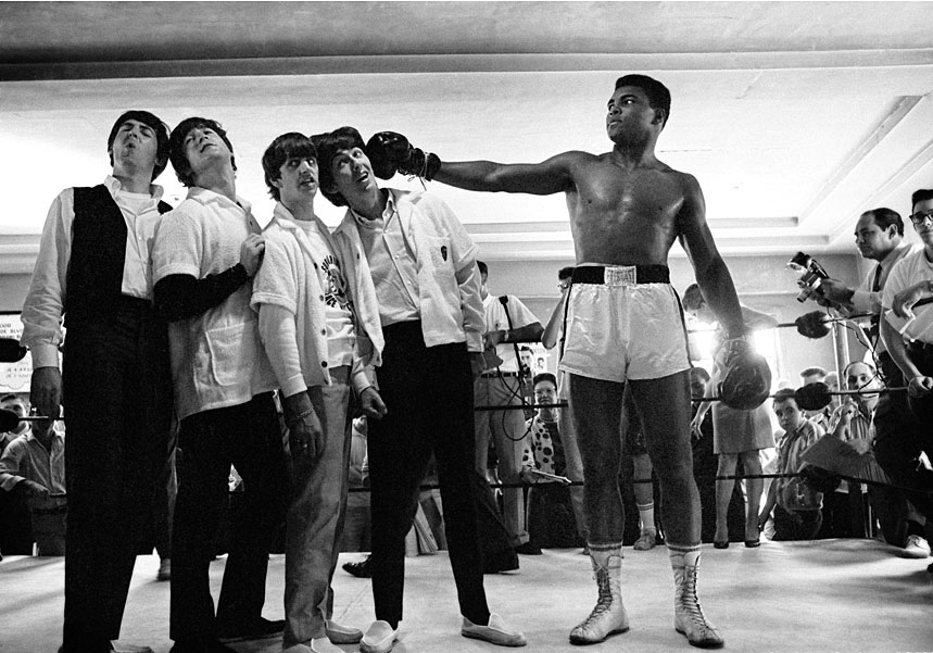 Muhammad Ali and The Beattles