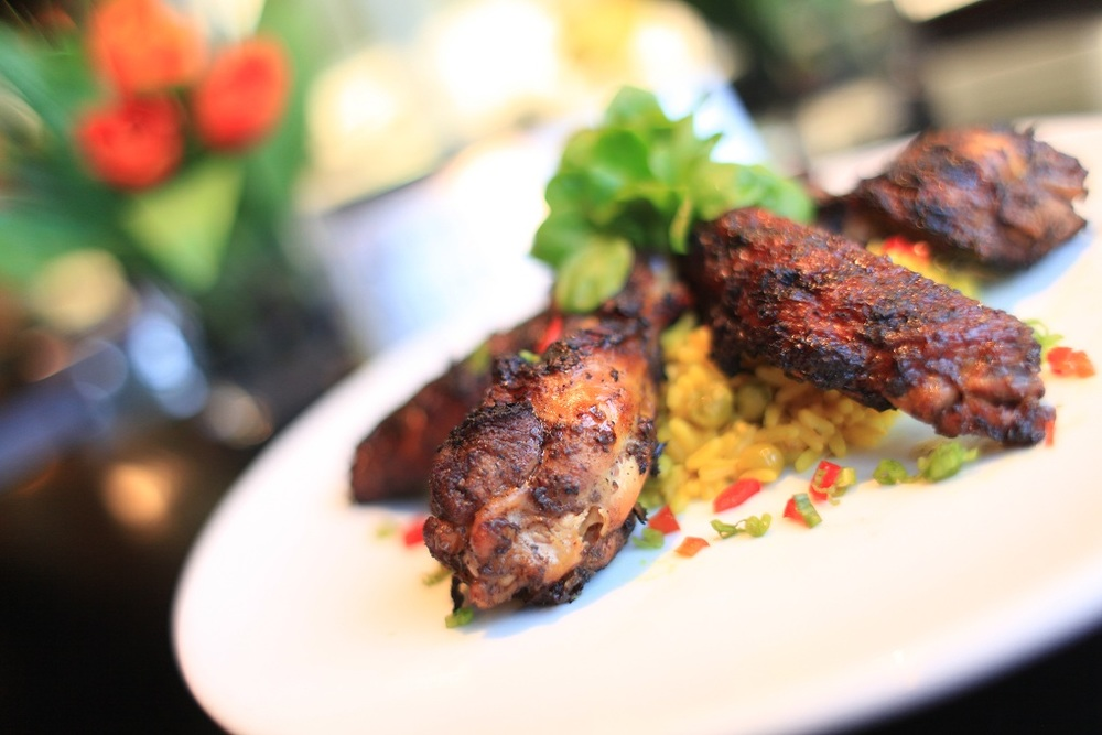 Their Jerk ChickenWings are definitely a staple!
