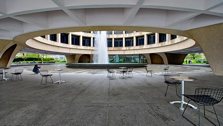 The Hirshhorn Ring Auditorium