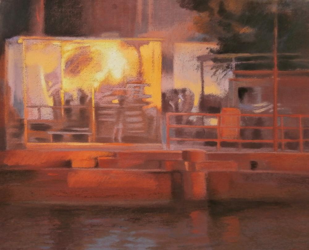 On the Docks