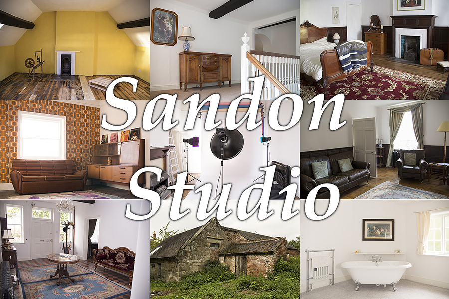 Some of the sets at Sandon Studio