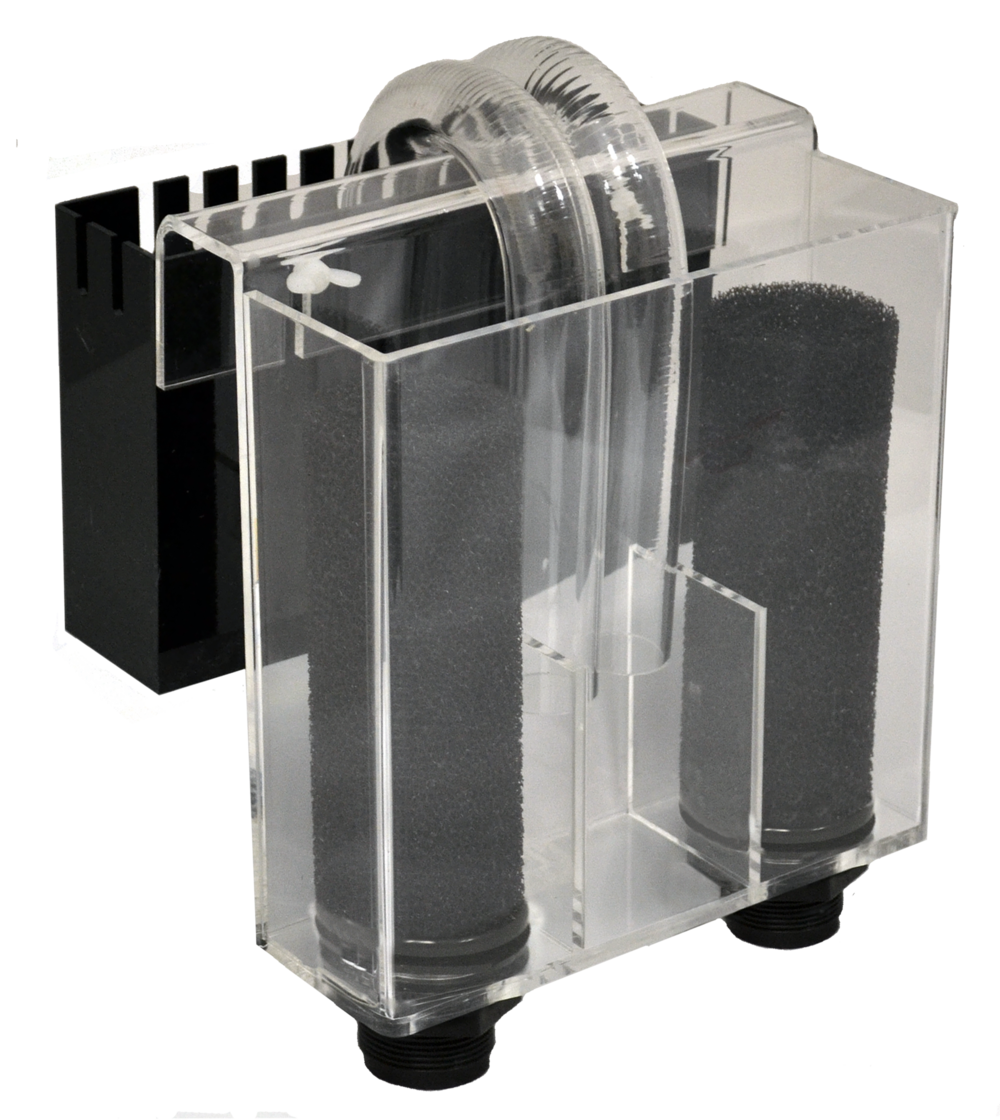 "1200 Overflow System     Optimal Tank Size: 150-200 gallons    SKU: AM87010    UPC#: 7-49729-87015-9    Product Size: 10x3x10""    Package Size: 11.25x8x10.25""    Package Weight: 5.5lbs.    Master Carton Size: 24x23x11.5""    Master Carton Weight: 33lbs.    Case Pack: 6pcs."