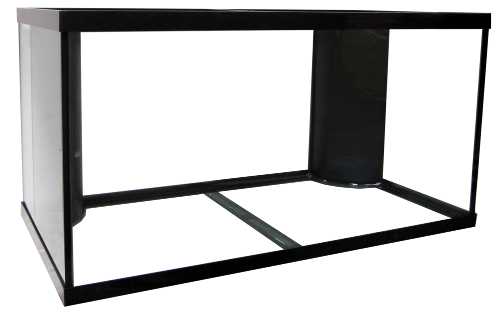 "120 Regular Dual Reef Ready Aquarium - 48x24x24""   SKU#: AM18122  UPC#: 7-49729-18122-4  Product Dimension: 48.5""x24.5""x25.38""  Capacity: Approximately 120 gallons  Weight: 169.4 lbs"