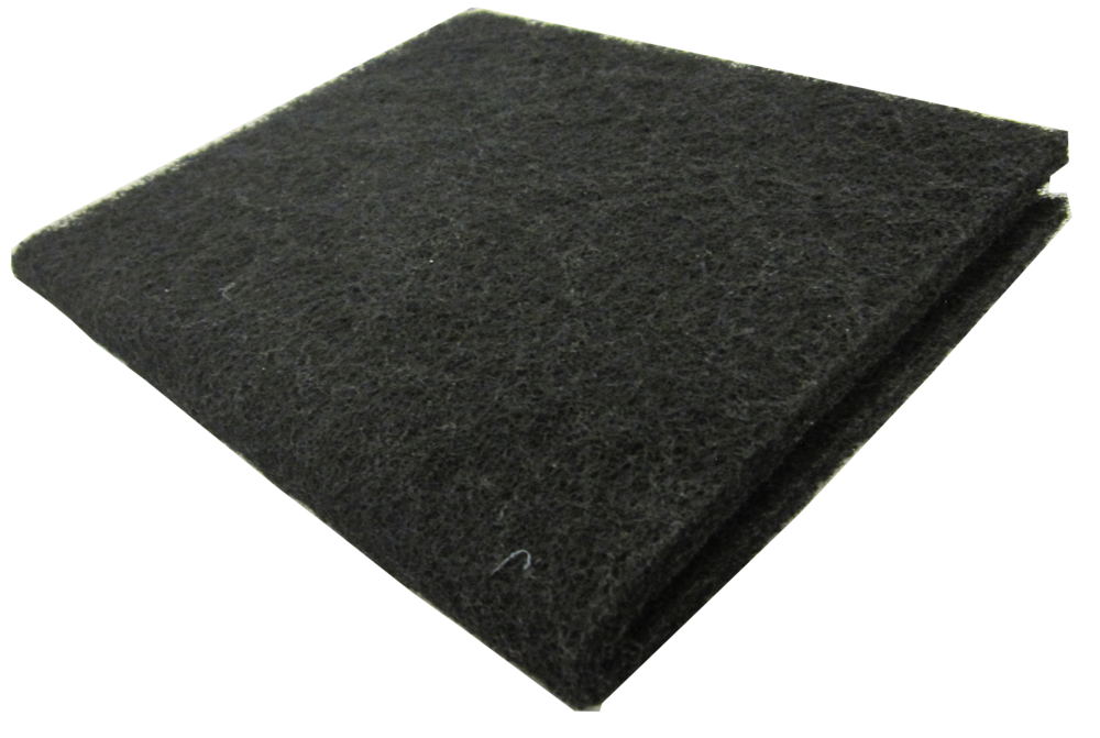 "18x10"" Carbon Pad   SKU: AM41002  UPC#:7-49729-41002-7  Case Pack: 50pcs.  Master Carton Weight: 20lbs.  Master Carton Size :  33""x22""x11"""