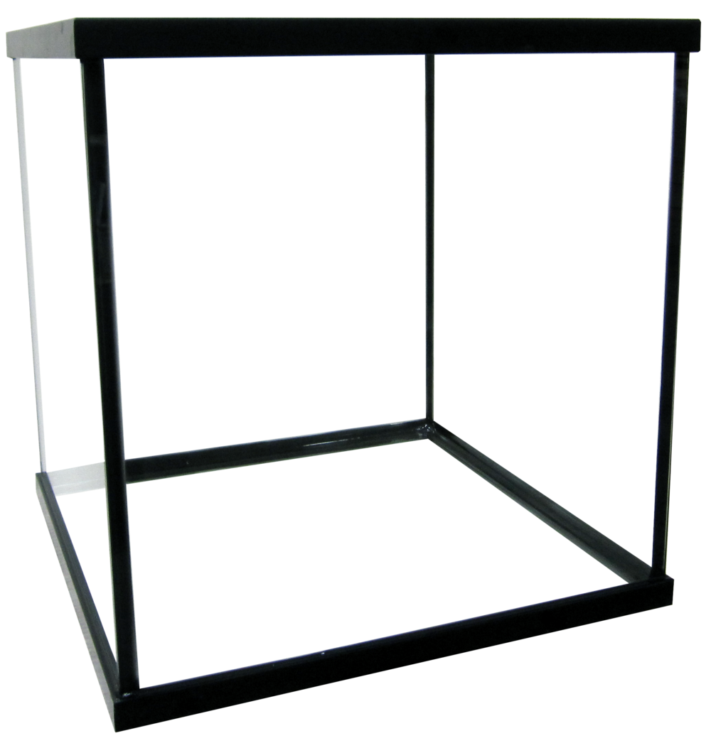 "60 Cube Aquarium [Framed] - 24x24x24""   SKU#: AM11061  UPC#: 7-49729-11061-  Product Dimension: 24.5""x24.5""x25.25""  Capacity: Approximately 60 gallons  Weight:"