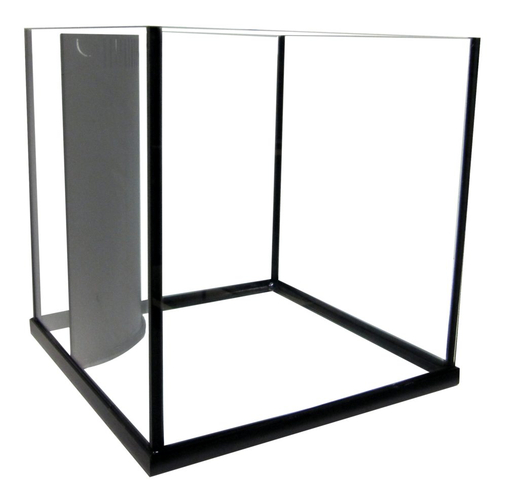 "35 Rimless Cube Reef Ready Aquarium - 20x20x20""   SKU#: AM13635  UPC#: 7-49729-13635-4  Product Dimension: 20.5""x20.5""x20.63""  Capacity: Approximately 35 gallons  Weight: 56.1 lbs"