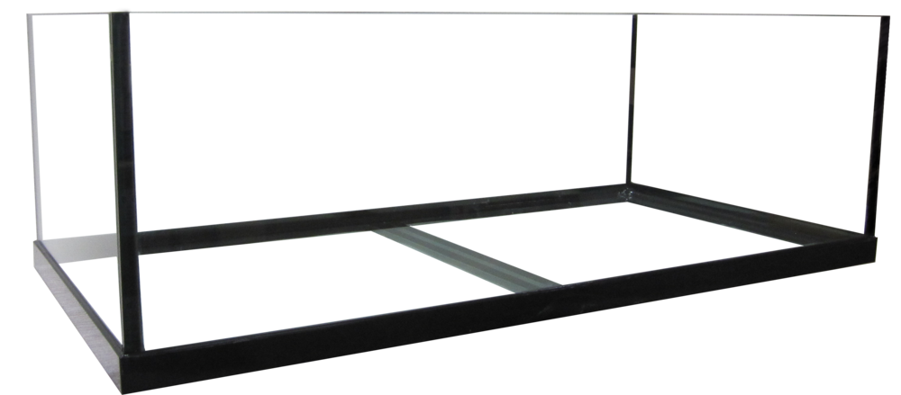 "80 Rimless Frag Aquarium - 48x24x16""   SKU#: AM13580  UPC#: 7-49729-13580-7  Product Dimension: 48.5""x24.5""x16""  Capacity: Approximately 80 gallons  Weight: 107.8 lbs"