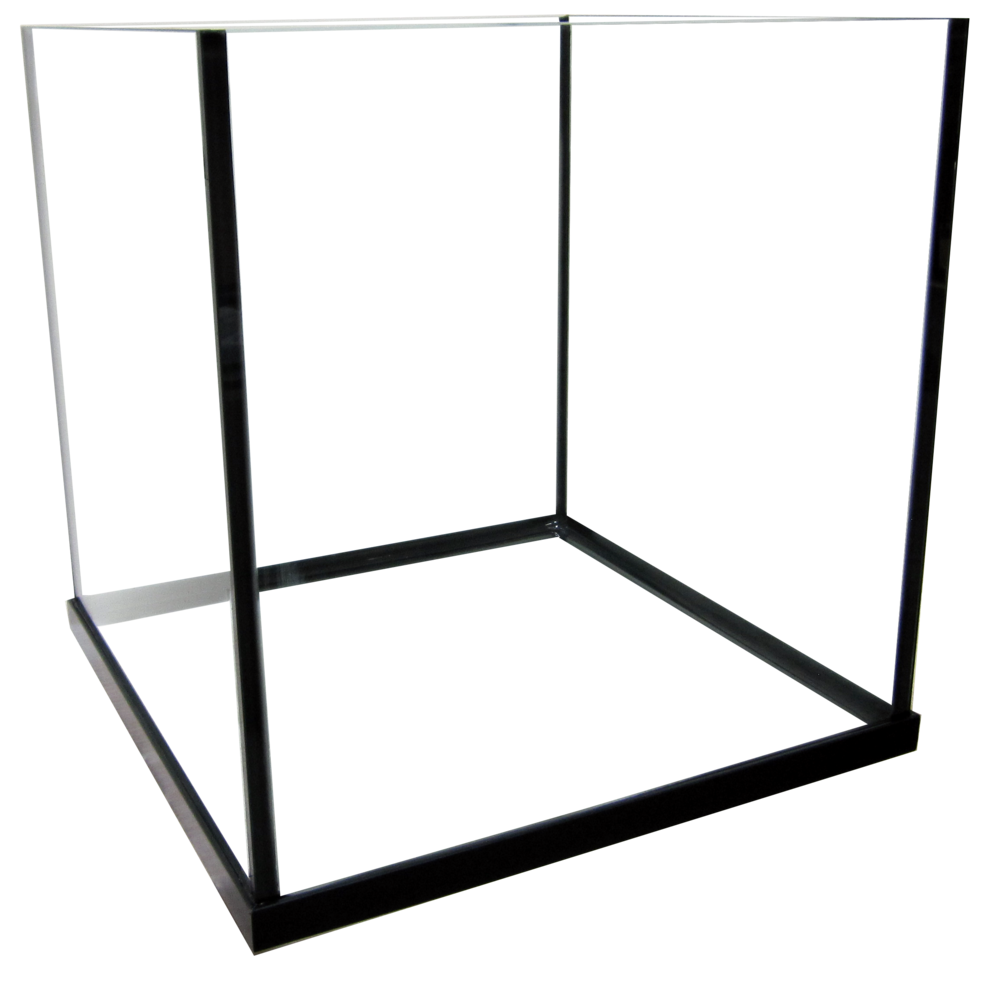"35 Rimless Cube Aquarium - 20x20x20""   SKU: AM13535  UPC#: 7-49729-11035-7  Product Dimension: 20.5""x20.5""x21.25""  Capacity: Approximately 35 gallons  Weight: 28.1 lb"