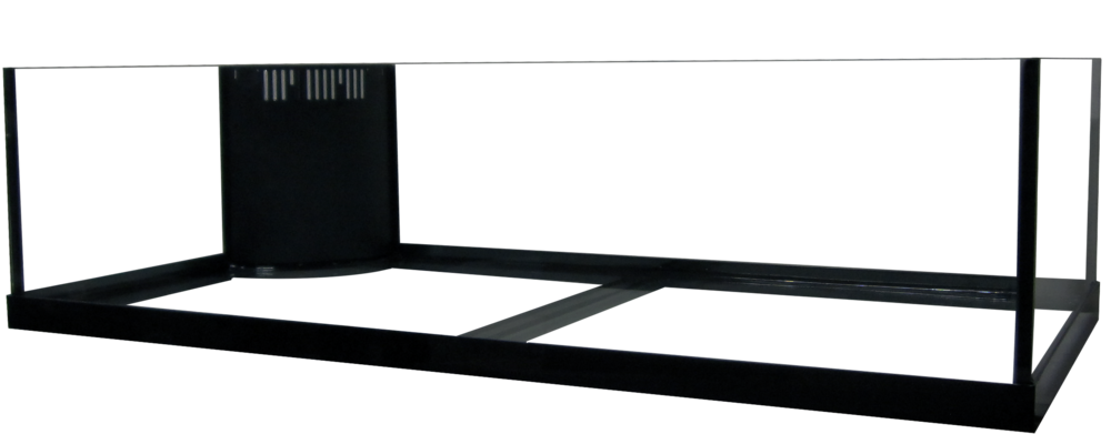 "60 Rimless Frag Reef Ready Aquarium - 48x24x12""   SKU#: AM13660  UPC#: 7-49729-13360-6  Product Dimension: 48.5""x24.5""x12.63""  Capacity: Approximately 60 gallons  Weight: 85.8 lbs"