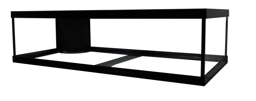 "60 Frag Reef Ready Aquarium - 48x24x12""   SKU#: AM18060  UPC#: 7-49729-18060-9  Product Dimension: 48.5""x24.5""x13""  Capacity: Approximately 60 gallons  Weight: 79.2 lbs"
