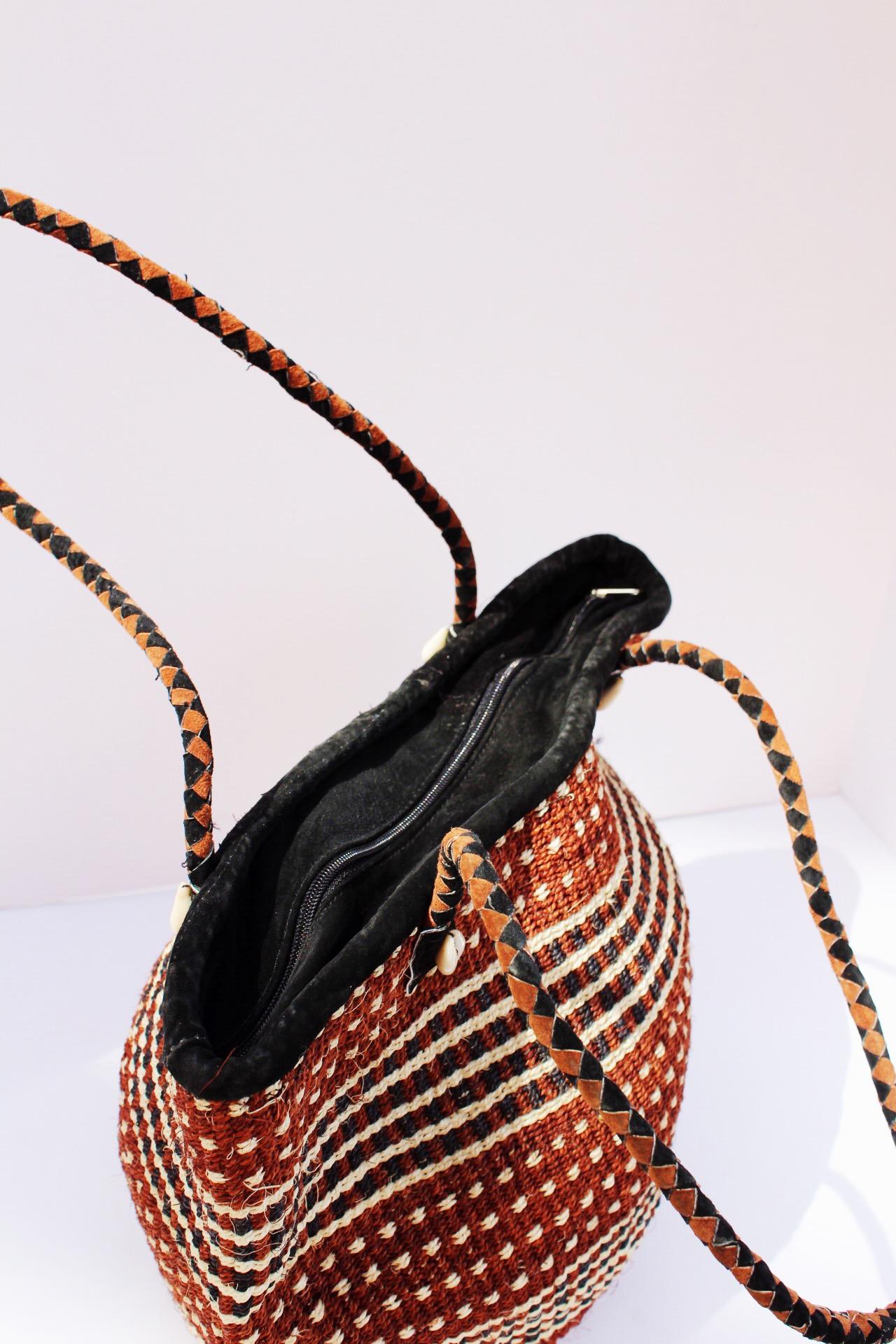 1477385ce51a Kenya Straw Shoulder Bag — African Cultural Art Forum