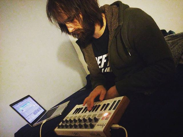 bedroom sessions 🎹💖 #sexyfights #newmusic #synths #psychedelic #rock #newsongs #chicagomusic #sexy #fights #arturia #ableton