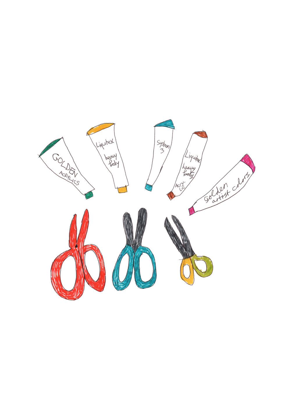 Paint and Scissors