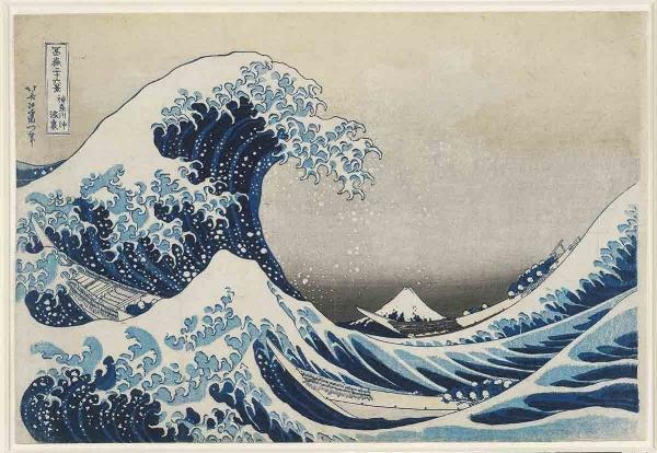 The Great Wave off Kanagawa. 1829-1832