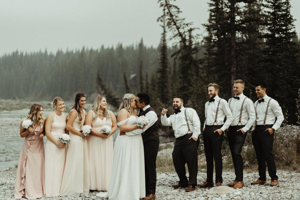 W+J - Calgary Wedding Photographer - Ghost Lake - Rocky Mountain Wedding-54.jpg