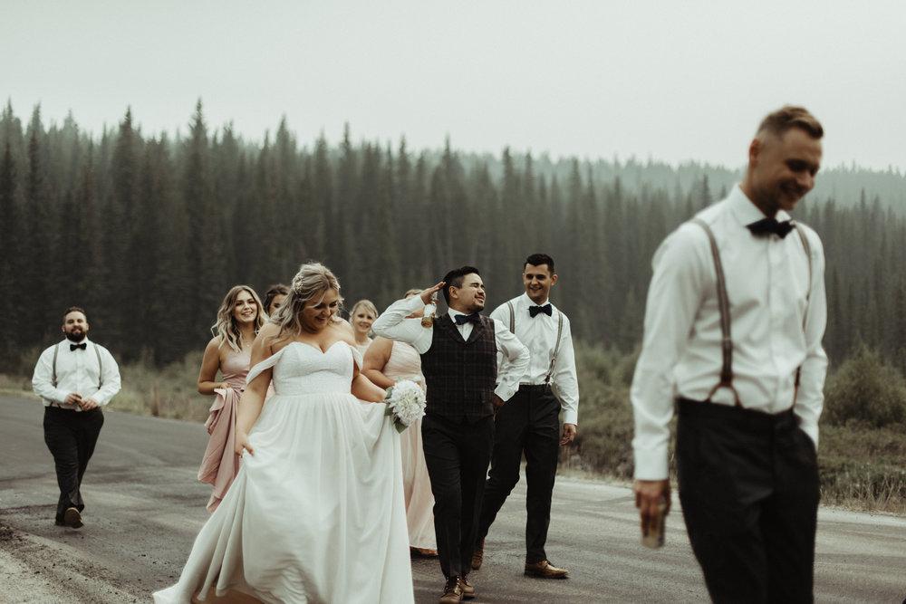 W+J - Calgary Wedding Photographer - Ghost Lake - Rocky Mountain Wedding-60.jpg