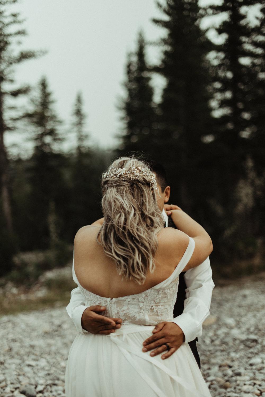 W+J - Calgary Wedding Photographer - Ghost Lake - Rocky Mountain Wedding-77.jpg