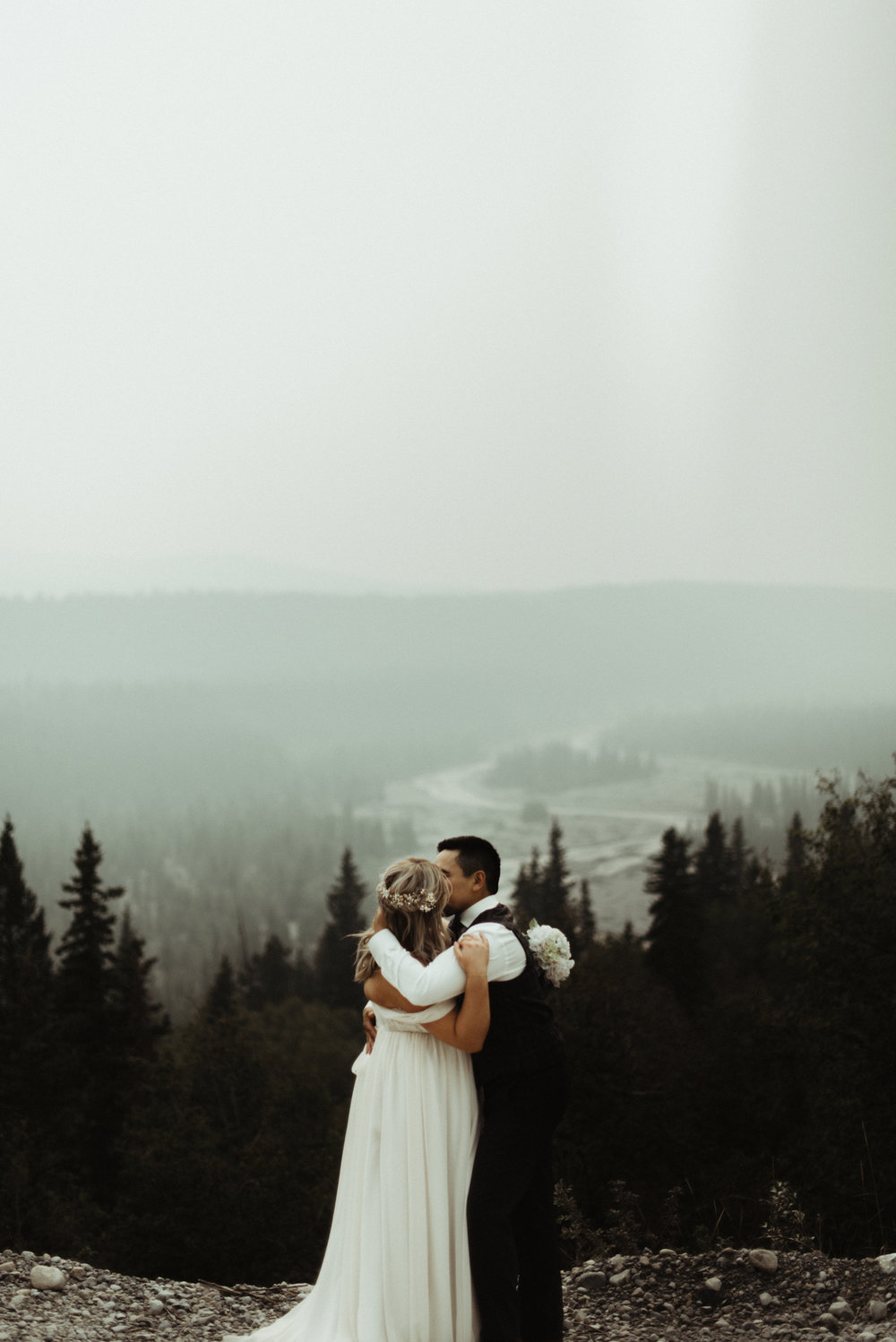 W+J - Calgary Wedding Photographer - Ghost Lake - Rocky Mountain Wedding-81.jpg