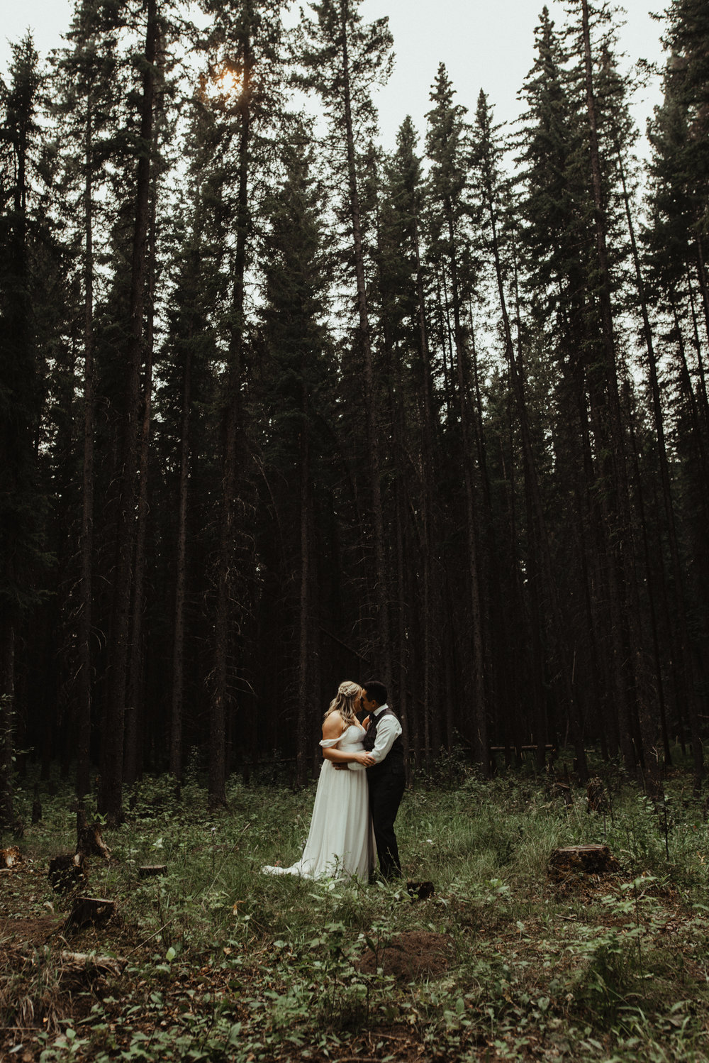 W+J - Calgary Wedding Photographer - Ghost Lake - Rocky Mountain Wedding-95.jpg