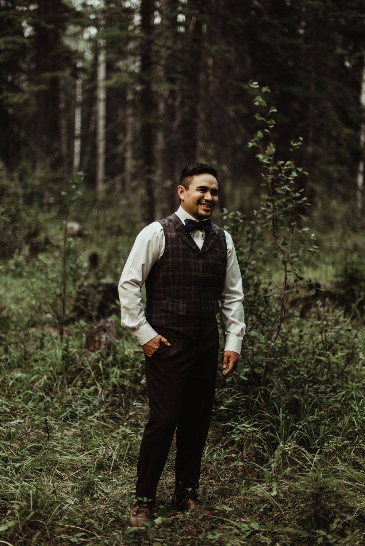 W+J - Calgary Wedding Photographer - Ghost Lake - Rocky Mountain Wedding-92.jpg