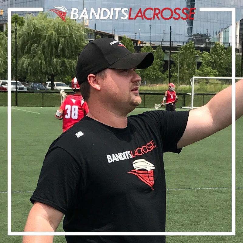PETER BURNS  Program Director, Bandits Lacrosse Head Coach, Bandits 2019 Asst. Coach, Chestnut Hill College Fmr. Head Coach, Abington HS St. John Fisher College '06