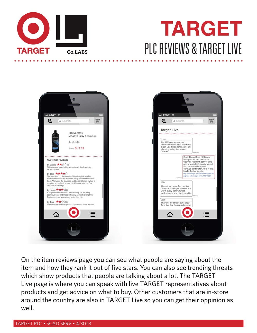 Target PLC App — John Gray Parker