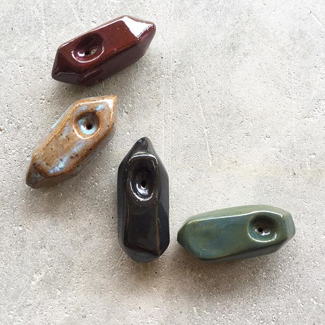 For those who partake, I suppose it's important to have a smoking vessel that you really like.  Stocking up on these little gemstones pipe babies in time for gifting season.