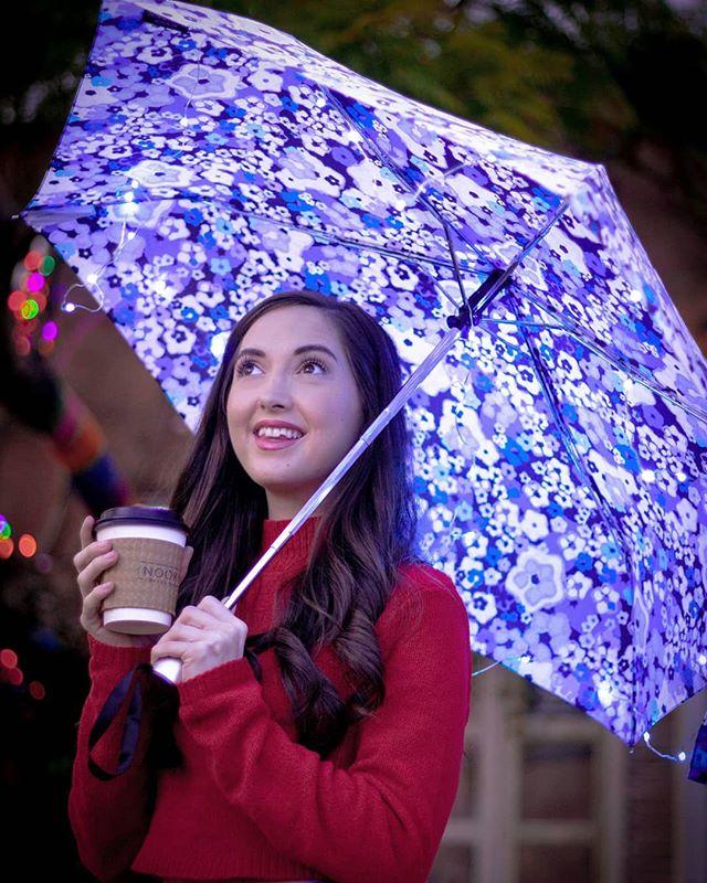 On rainy days, we drink @nookcoffeebar #ad