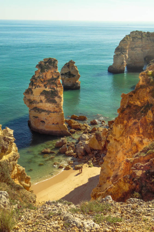 "wavemotions :     ""Wonders Of The World""  Praia Da Marinha, Benagil, Portugal (Algarve)  By   André Campos   