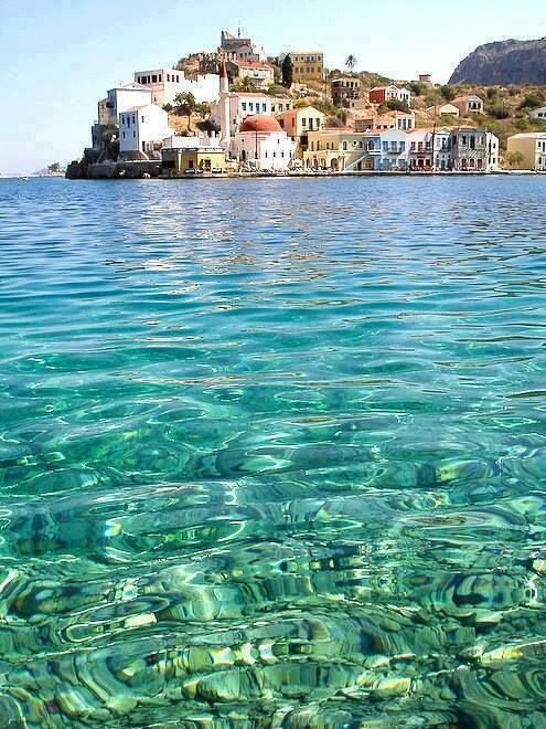 googleearthpics :   Clear Waters of Greece
