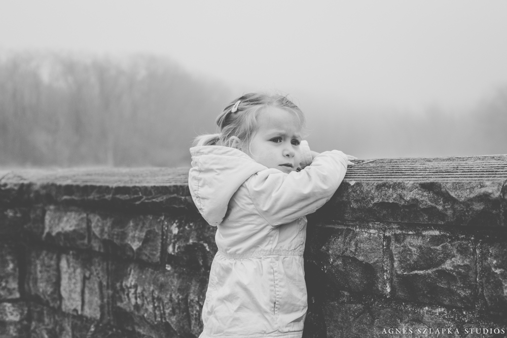 a beautiful magical foggy day | cleveland, ohio family photographer