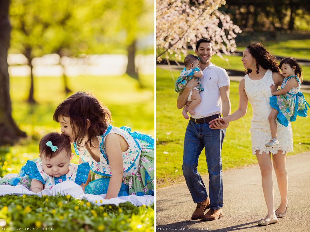 two little sisters + parents | cleveland, ohio lifestyle family photographer