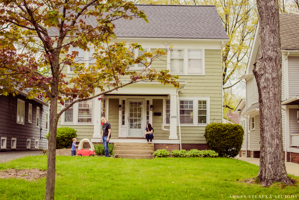 Cleveland Heights In-Home Lifestyle Session | Northeast Ohio Photographer