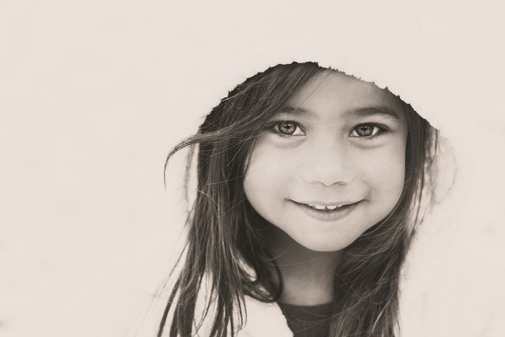 toddler girl with hood jacket in winter | cleveland, ohio kids photographer