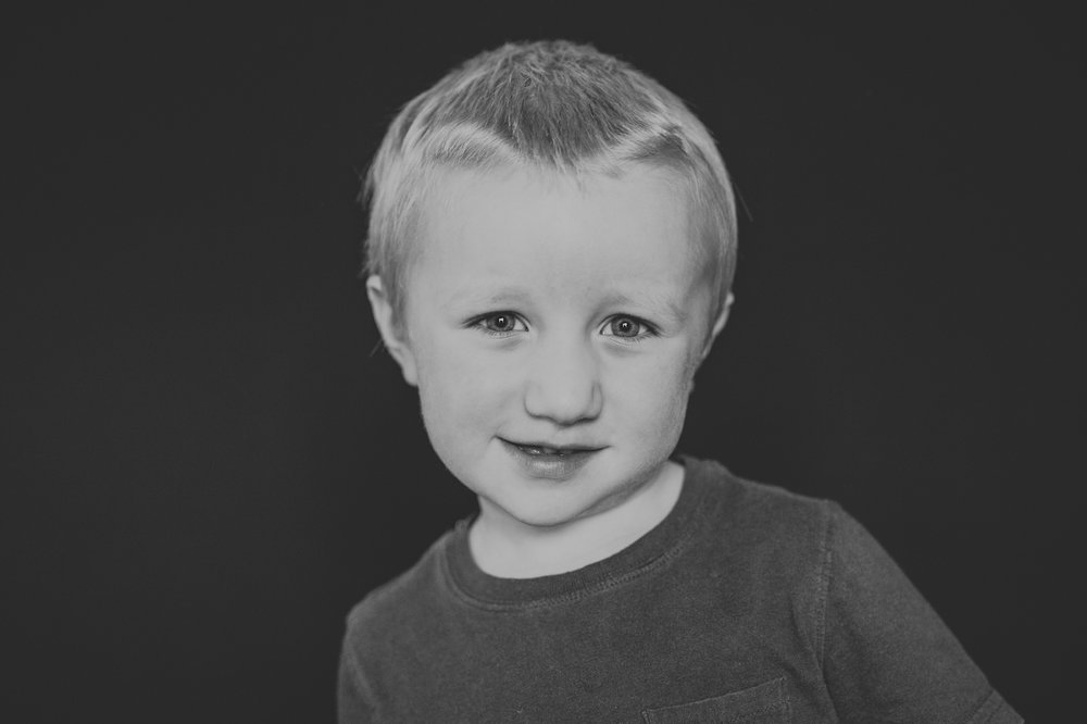 three year old boy with t-shirt | cleveland, ohio school fine art photography