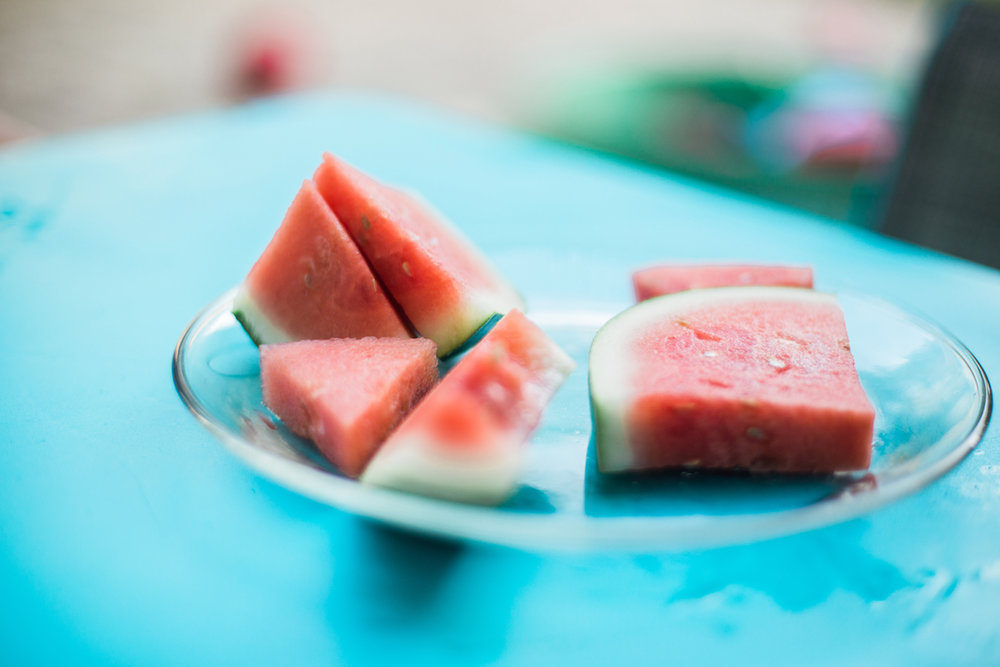 Agnes Szlapka Photography | cleveland photographer | watermelon slices on plate