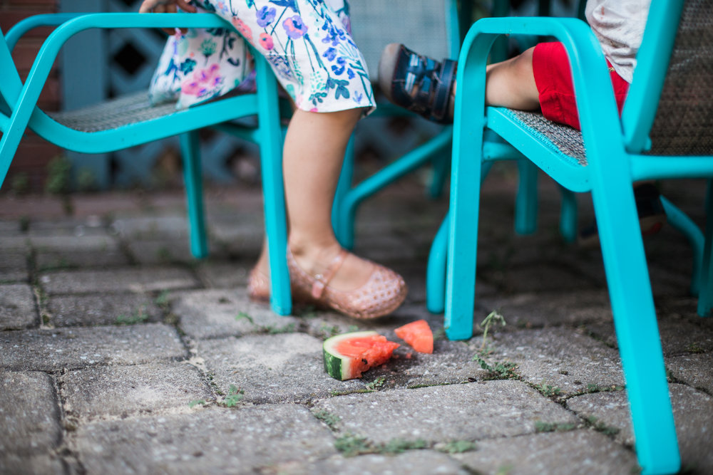 Agnes Szlapka Photography | cleveland photographer | watermelon fell on the ground