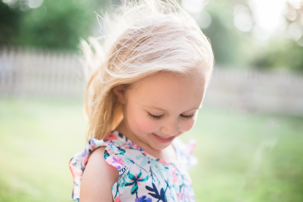 Agnes Szlapka Photography | cleveland photographer | summer hair blowing