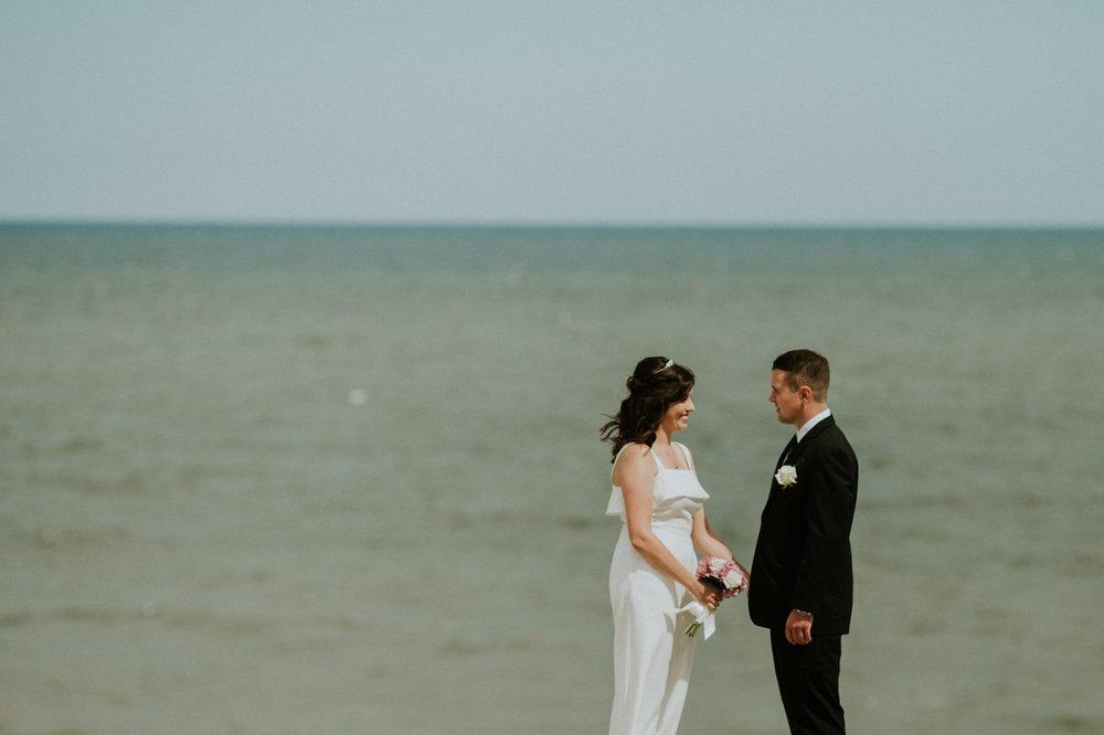 newly weds near lake erie lakewood | cleveland, ohio photographer