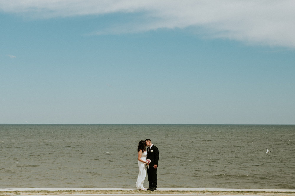 newly weds near lake erie lakewood | cleveland, ohio photographer