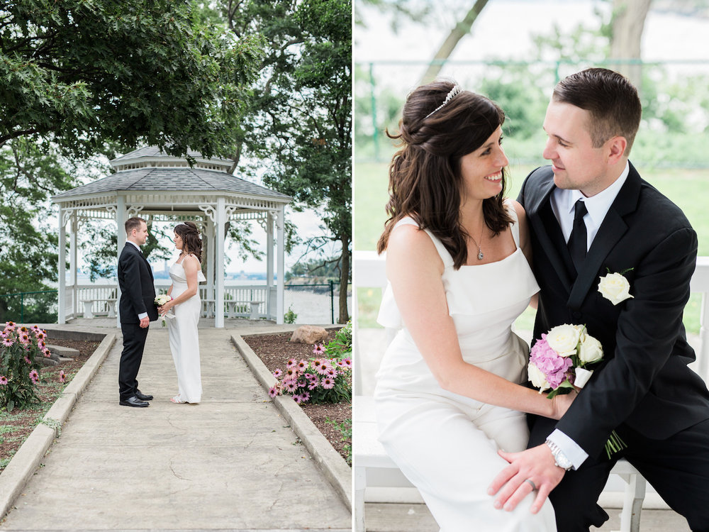 lakewood park marriage in gazebo | cleveland OH wedding photographer