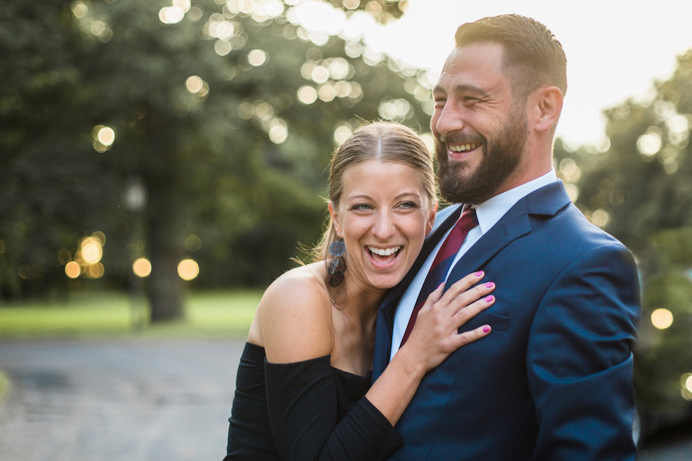 couple sharing a laugh | cleveland, oh lifestyle photographer